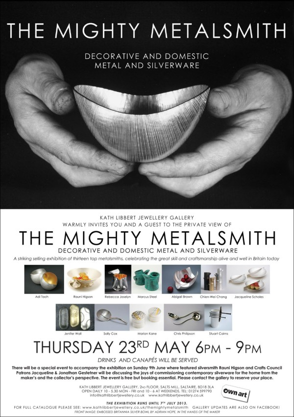 Mighty Metalsmith Invite